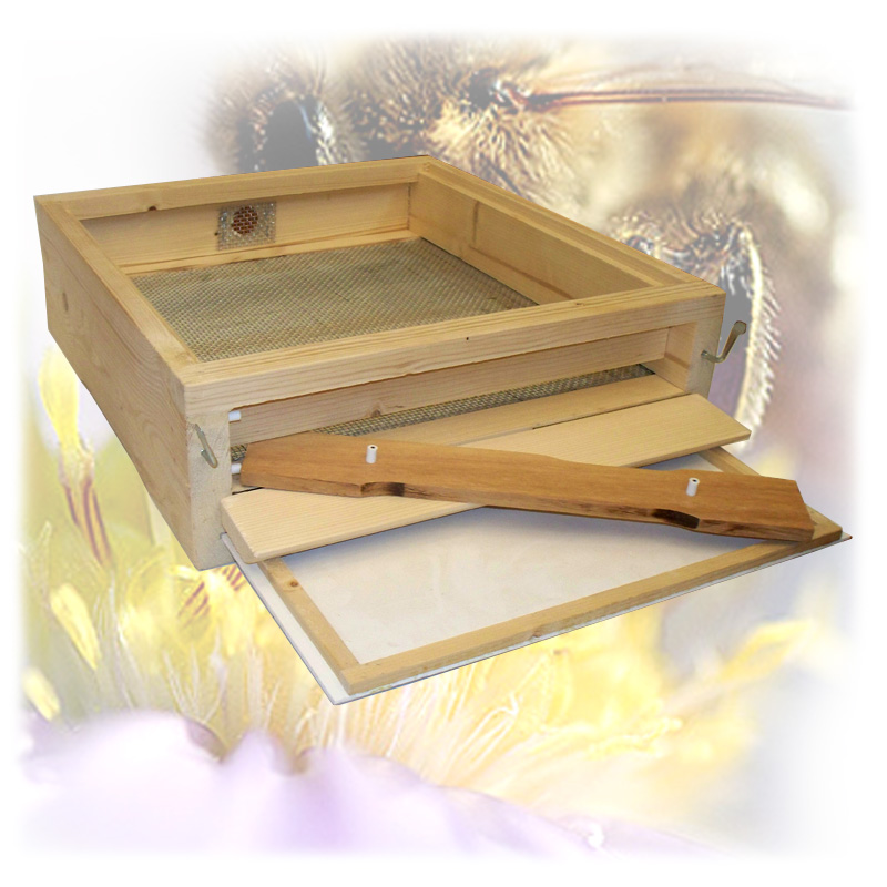 Dřevěné Varroa celozasíťované dno pro úl Tachov